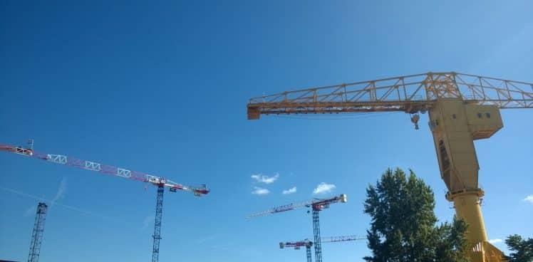 webinar - pilotage projet - bâtiment - grue de chantier