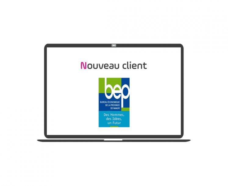 nouveau client bep namur belgique