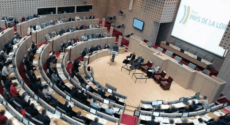salle conseil régional Pays de la Loire