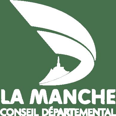 Conseil départemental - La Manche - logo - client - mode défonce - blanc - outil - gestion de projet - Project Monitor