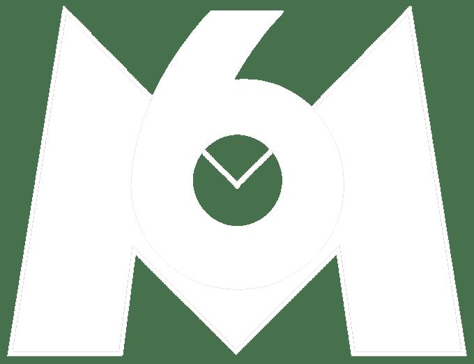 M6 - logo - client - mode défonce - blanc - outil - gestion de projets - Project Monitor