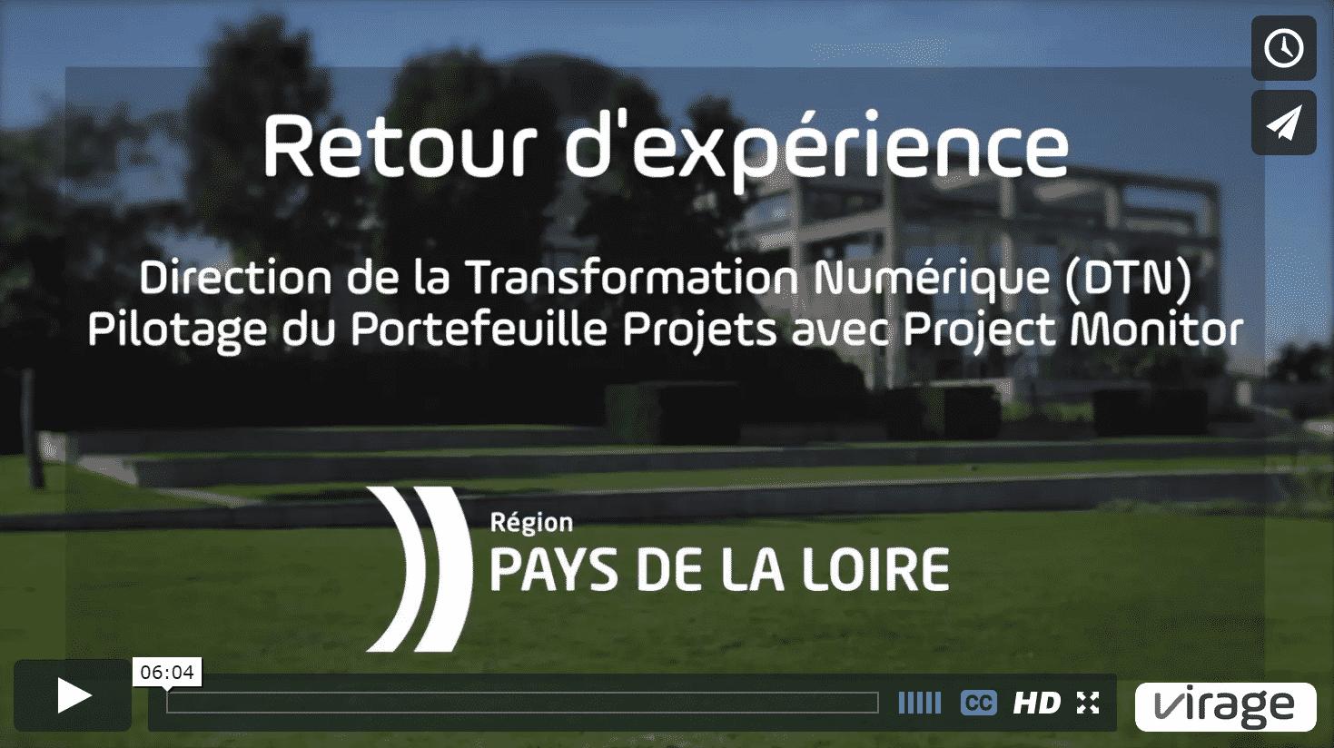 Témoignage video Conseil Régional Pays de la Loire