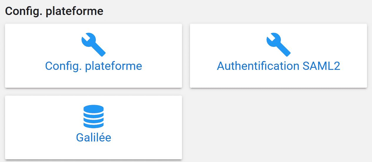 Carte d'accès à la configuration de la fédération d'identité