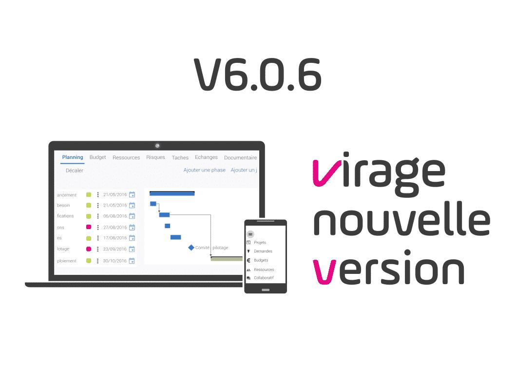 nouvelle version v6.0.6 gestion de projet