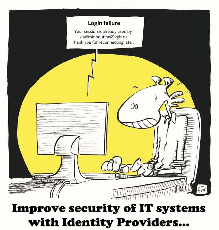 Identity Providers - security - IT systems