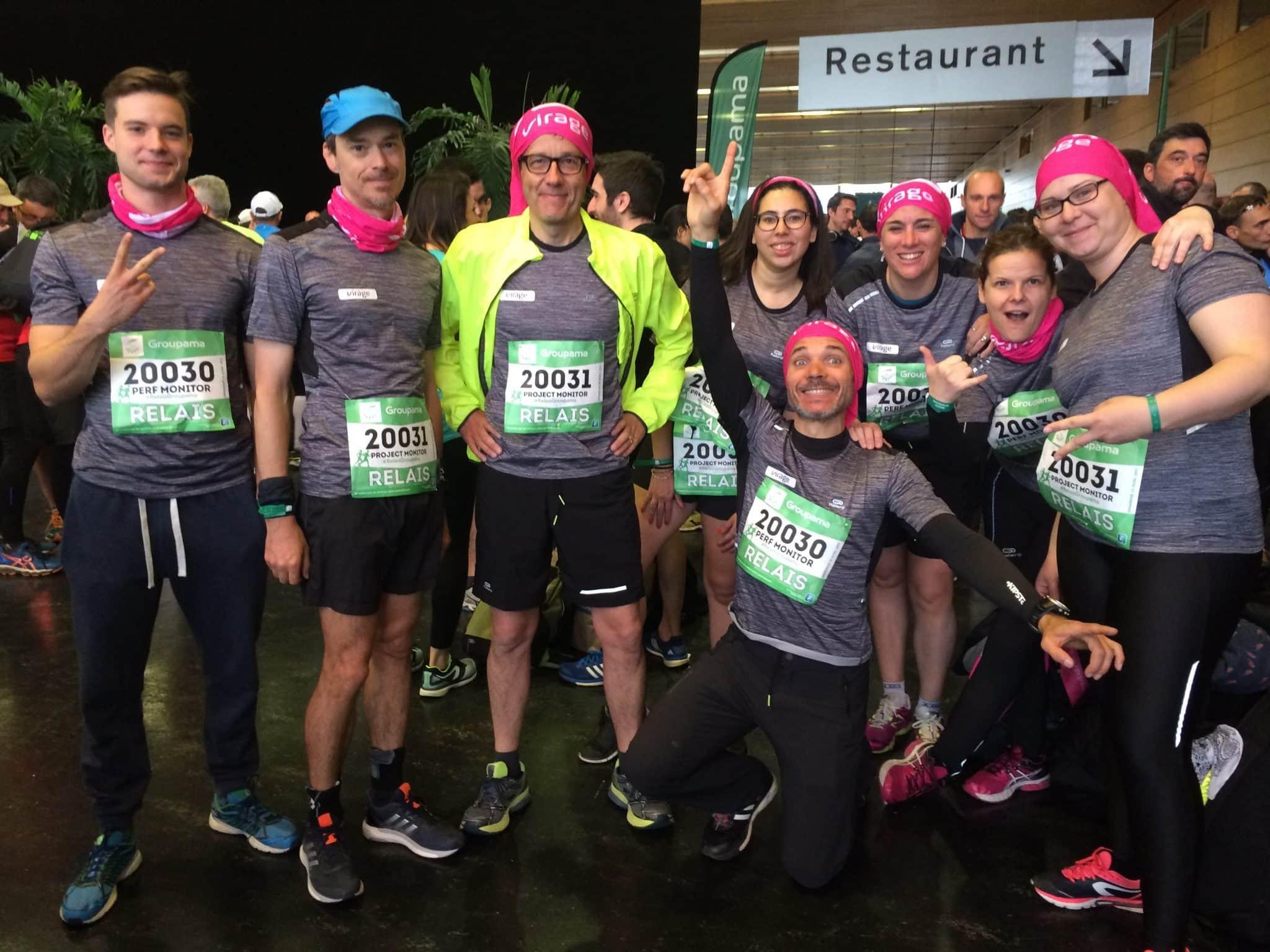 Marathon de Nantes- course - projet - équipe Virage - Perf Monitor - Project Monitor