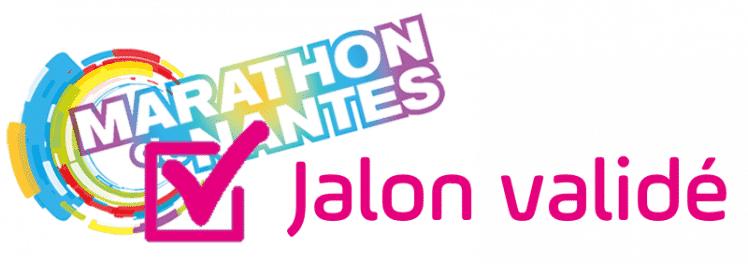 logo Marathon de Nantes couleur