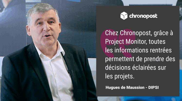 DSI - Chronopost - Hugues de Maussion - client