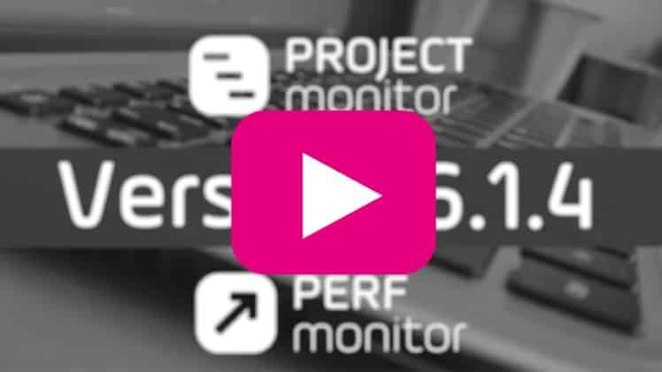 vidéo - logiciel - pilotage - portefeuille de projet - montée de version 6.1.4