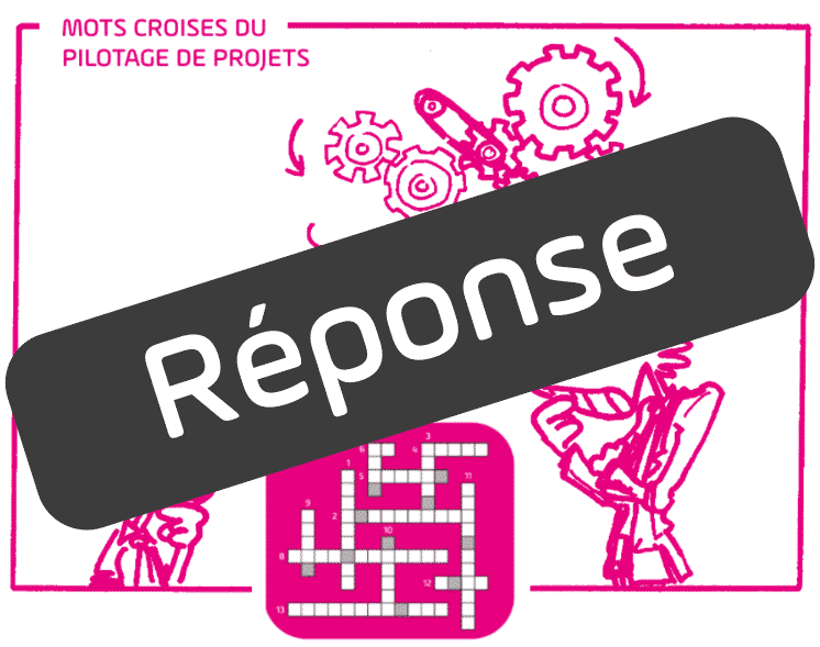 Réponse - solution - mot croisés - voeux 2018