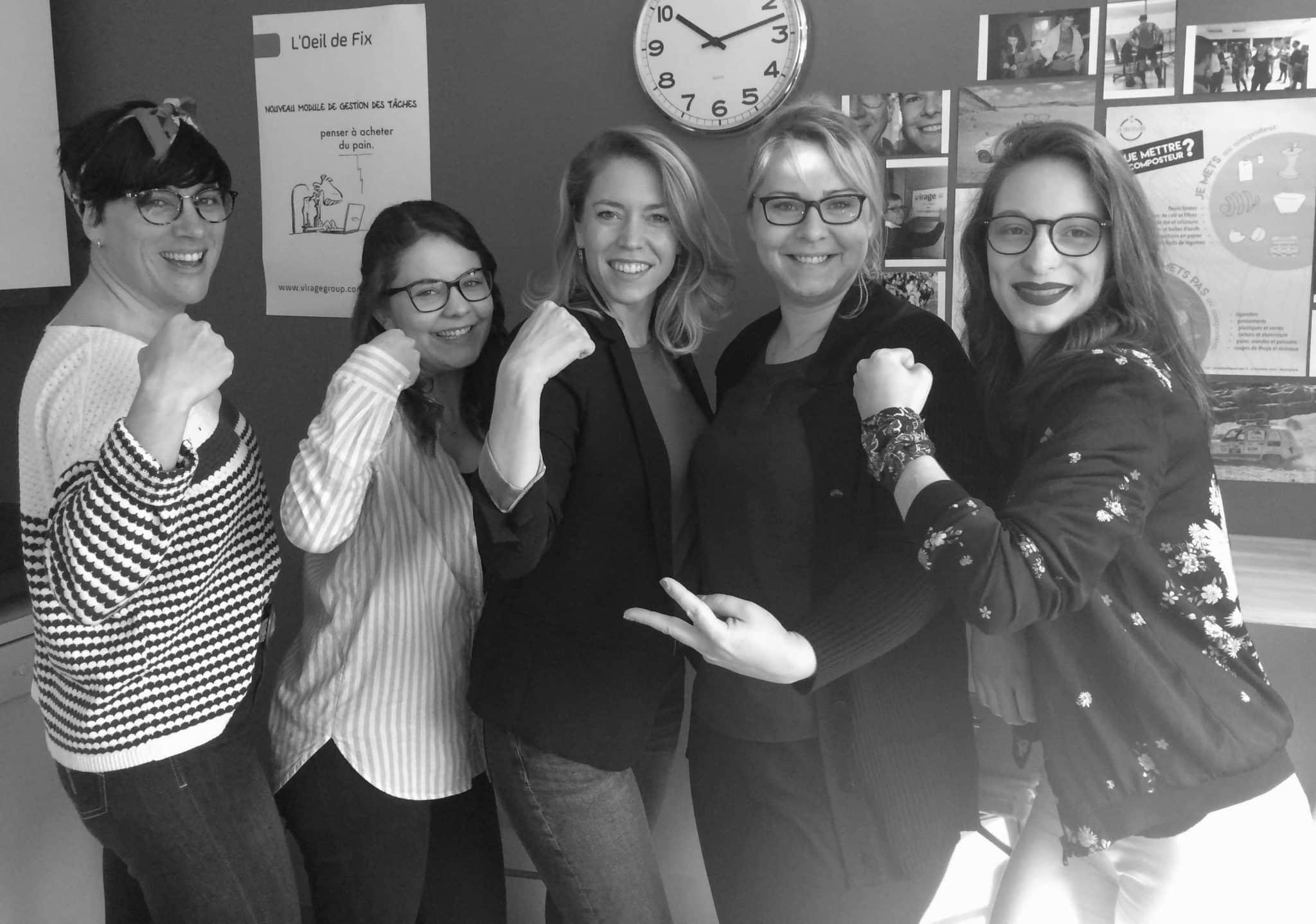 Equipe - femmes - IT - digital - VIRAGE Group - recrutement