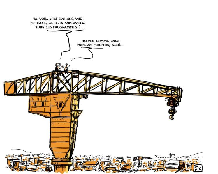BTP - Gestion de projet - bâtiment - travaux publics - Fix - project monitor