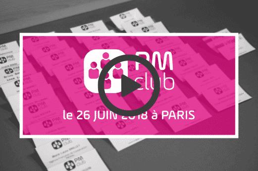 Vidéo - remerciement- PM Club - 2018 - clients - VIRAGE