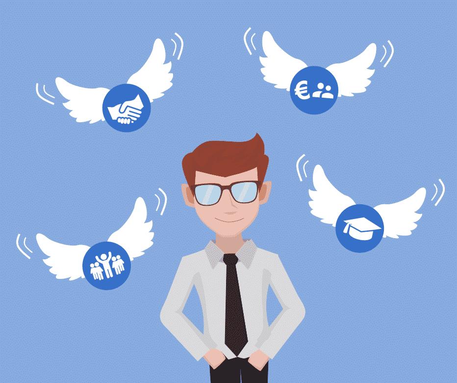 Atouts - chef de projet - méthode ANGE - gestion - négociation - expertise - gestion
