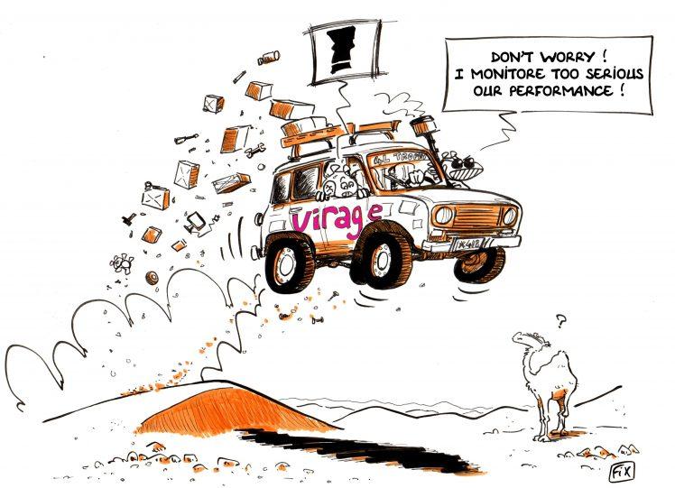 dessin 4L désert