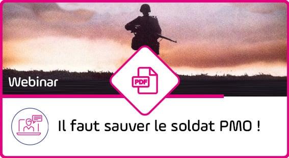 Webcast - Sauver le soldat PMO - Outil PPM