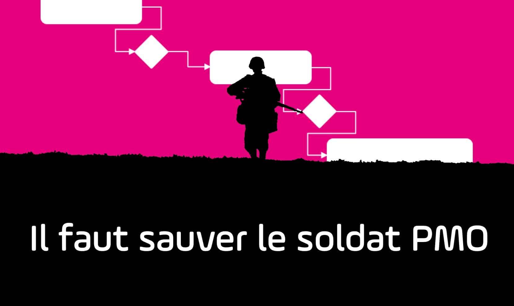 Affiche webinar il faut sauver le soldat PMO