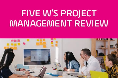 Five-W's-Project-Management-Review-Card