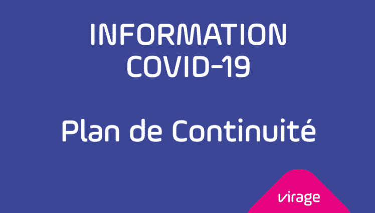 Plan de Continuité VIRAGE Group - COVID 19