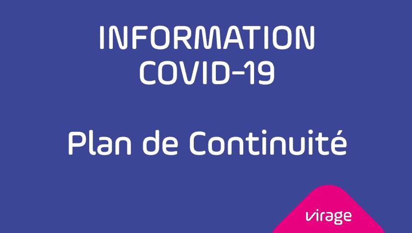 Plan de Continuité VIRAGE Group - COVID 19