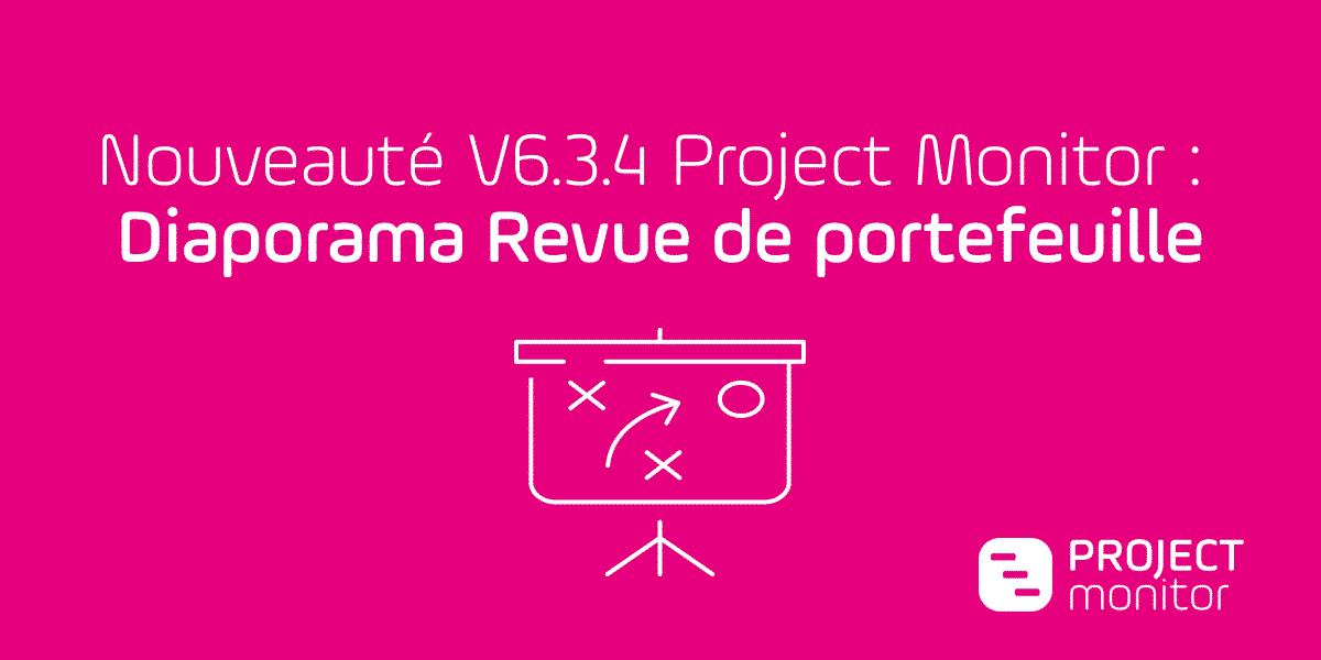 project monitor diaporama revue de portefeuille