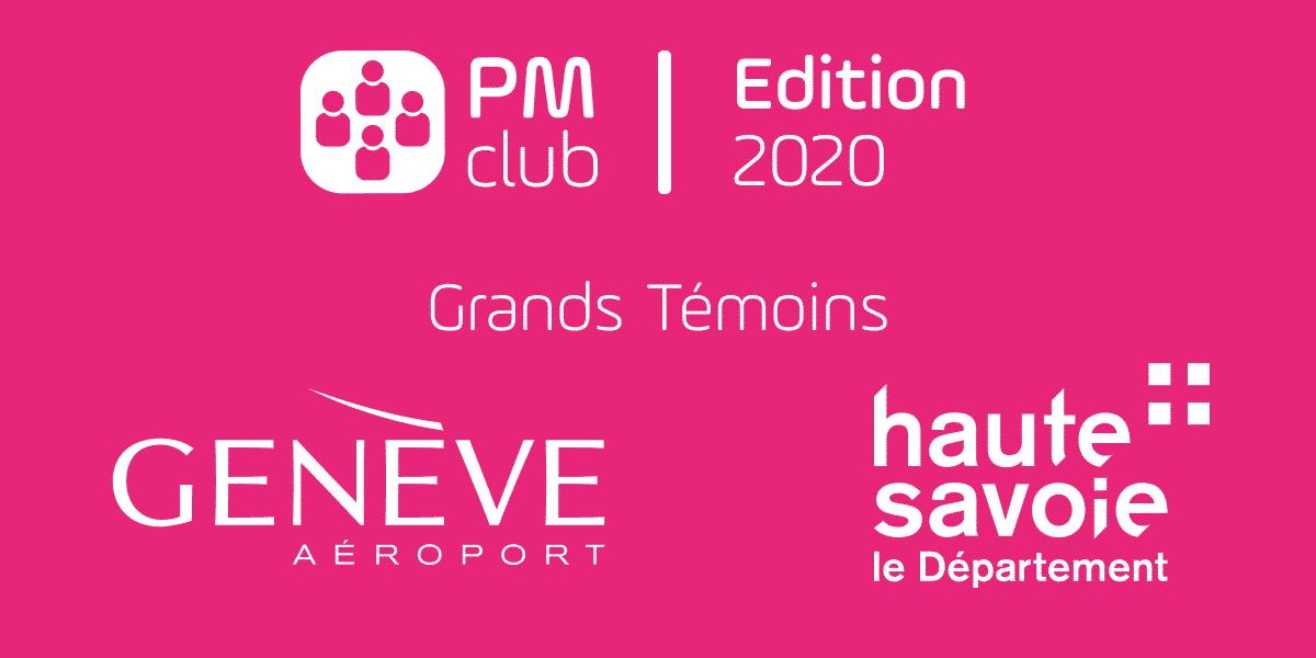 PM Club 2020 - invités d'honneur Aéroport de Genève et Département de Haute Savoie