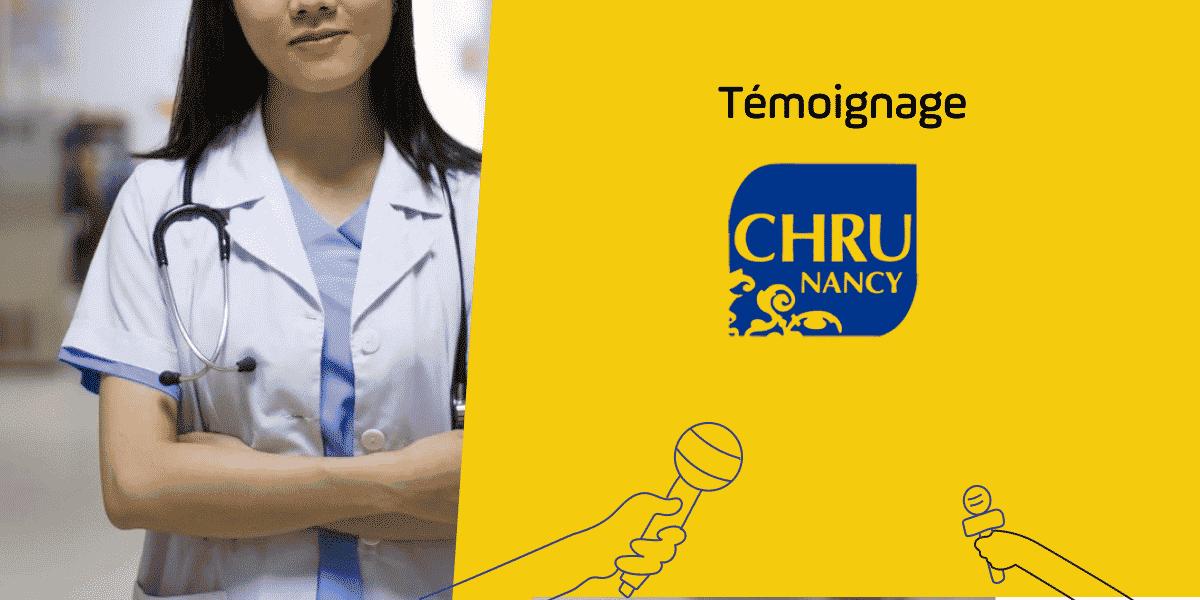 sih système d'information hospitalier CHRU nancy