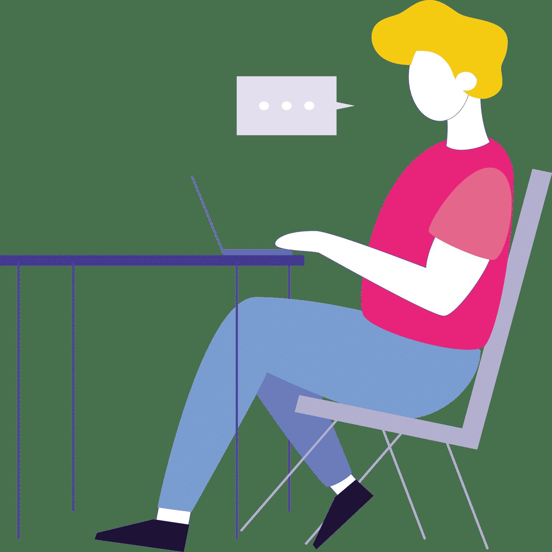 Pictogram customer service