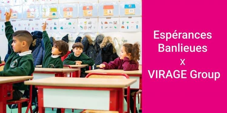 Les élèves d'Espace Banlieues
