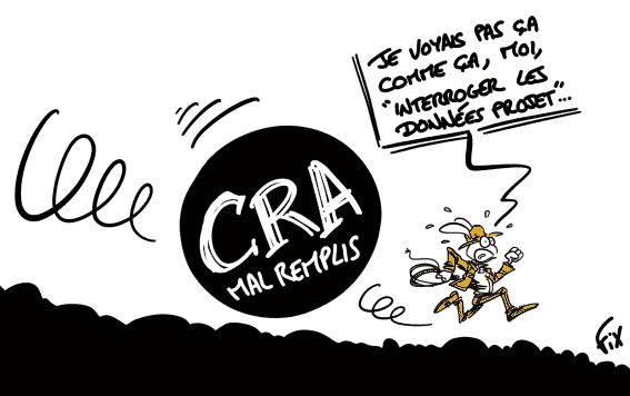 Caricatures de FIX, interroger les données projets