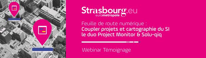 Deux logiciels au service de la gouvernance de la direction numérique de l'eurométropole de Strasbourg